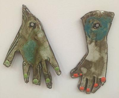 POLLY APFELBAUM - DUBUFFET'S FEET MY HANDS (个展)