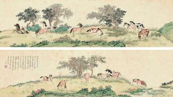 中西合璧绘画的市场价值表现