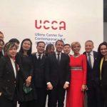 """法国总统马克龙现身""""艺术8""""及UCCA 中法艺术之春捷在眉目?"""