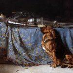【奥地利】卡尔雷彻特《盔甲骑士与忠犬》 19世纪——【一只汪的魔幻旅程】