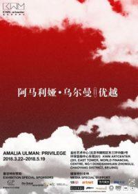 阿马利娅·乌尔曼——优越 (个展)