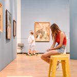 莫斯科画廊解决非法参观的巧妙办法:禁止所有游客谈论艺术