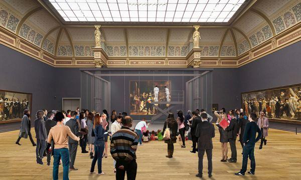 "Rembrandt's 'Night Watch' Will Be Restored In Full Public View - 伦勃朗的""守夜人""将在公众视野中恢复"