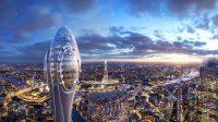 Norman Foster's New London Skyscraper: Tulip or Q-Tip? - 诺曼·福斯特的新伦敦摩天大楼:郁金香还是Q-Tip?