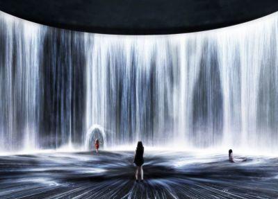 TEAMLAB——油罐中的水粒子世界 | 个展
